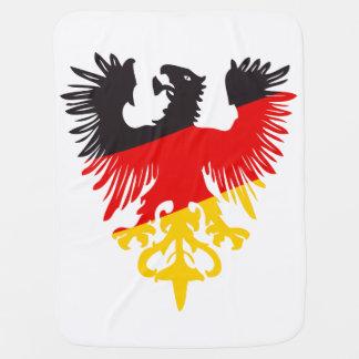 Deutsches schwarzes Eagle Babydecke