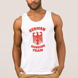 Deutsches trinkendes Team Tank Top