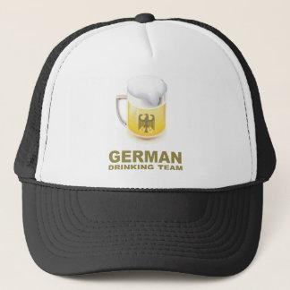 Deutsches trinkendes Team Truckerkappe