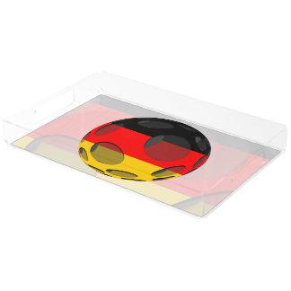 Deutschland #1 acryl tablett
