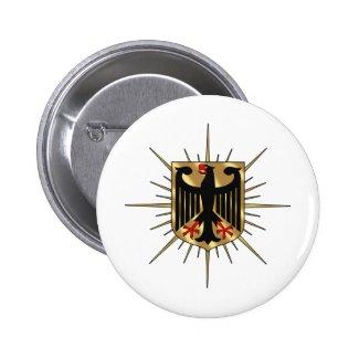 Deutschland-Adler | Button (weiß)