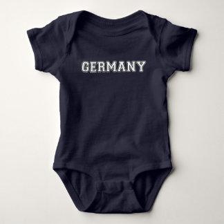 Deutschland Baby Strampler