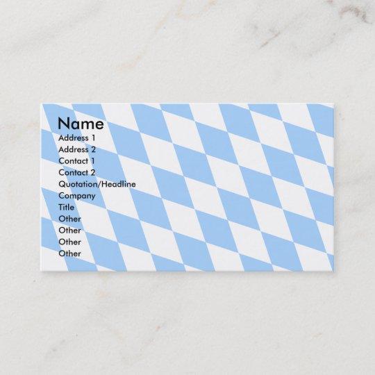 Deutschland Bayerische Flagge Visitenkarte Zazzle De
