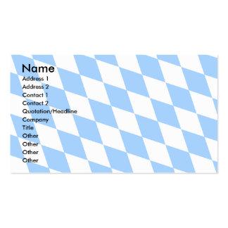 Deutschland-Bayern-Flagge Visitenkartenvorlage
