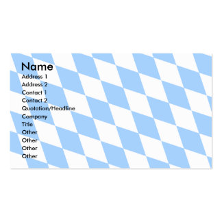 Deutschland-Bayern-Flagge Visitenkarten