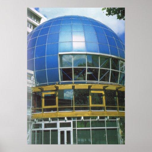 Deutschland, Berlin, Kino 360° Plakatdruck
