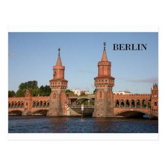 Deutschland Berlin Oberbaumbrucke (St.K.) Postkarte