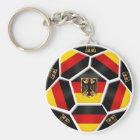 Deutschland - Deutschland-Ball Fußballfans mit Schlüsselanhänger