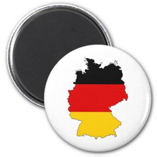Deutschland, Deutschland Runder Magnet 5,1 Cm