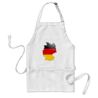 Deutschland (Deutschland) und Flagge Schürze
