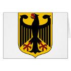 Deutschland-Emblem Karte