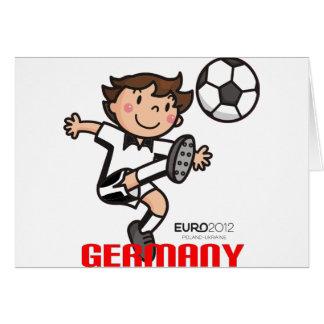 Deutschland - Euro 2012 Karte