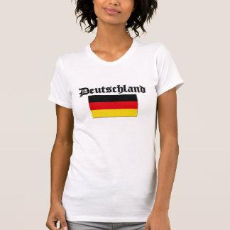 Deutschland-Flagge 1 Tshirts
