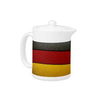 Deutschland-Flagge Farbe-Chrom durch Shirley