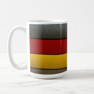 Deutschland-Flagge Farbe-Chrom durch Shirley Kaffeetasse