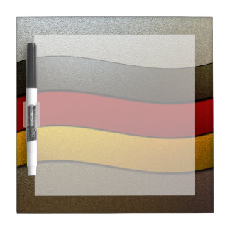 Deutschland-Flagge Farbe-Chrom durch Shirley Trockenlöschtafel