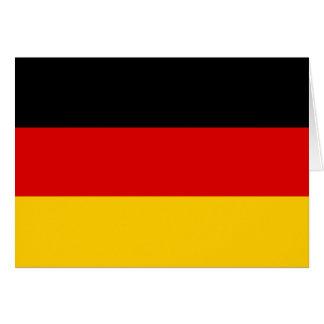 Deutschland-Flagge Grußkarte
