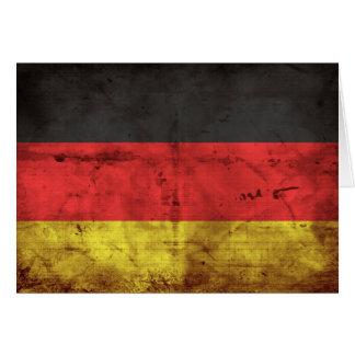 Deutschland Flagge Karte