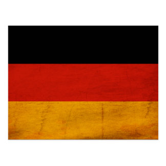 Deutschland-Flagge Postkarte