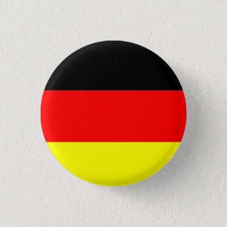 Deutschland-Flagge Runder Button 3,2 Cm