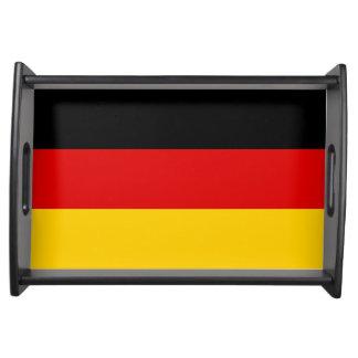 Deutschland-Flagge Serviertablett