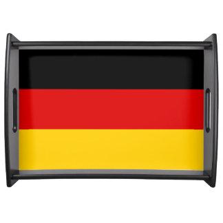 Deutschland-Flagge Tablett