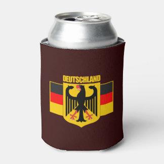 Deutschland-Flagge u. Wappen Dosenkühler