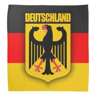 Deutschland-Flagge u. Wappen Halstuch