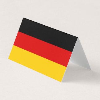 Deutschland-Flagge Visitenkarten