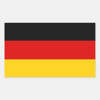 Deutschland-Flaggen-Aufkleber