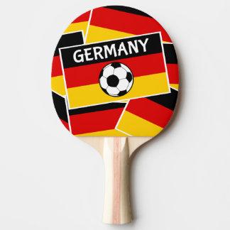 Deutschland-Flaggen-Fußball Tischtennis Schläger