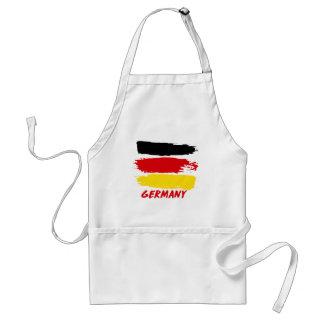 Deutschland-Flaggenentwürfe Schürze