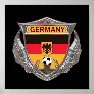 Deutschland-Fußball-Plakat Poster