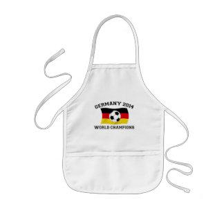 Deutschland-Fußball verficht 2014 Kinderschürze