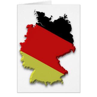 Deutschland Grußkarte
