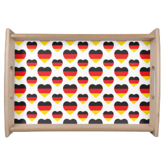 DEUTSCHLAND-HERZ-FORM-FLAGGE TABLETT