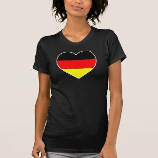 """Deutschland Herz Fussball Shirt """"Germany"""""""