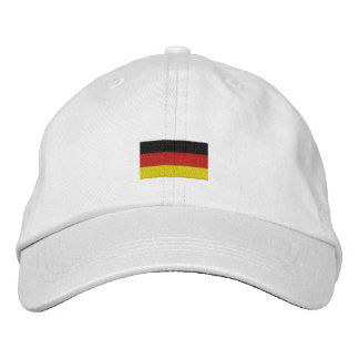 Deutschland-Hut - deutsche Flagge Bestickte Kappe