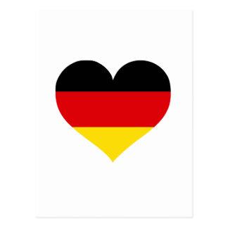 Deutschland-Liebe Postkarte