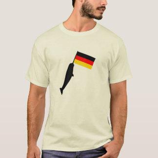 Deutschland Narwhal T-Shirt