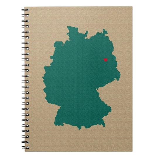 Deutschland Notizblock