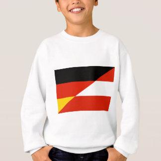 Deutschland-Österreich Flagge Sweatshirt