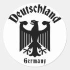 Deutschland Runder Aufkleber