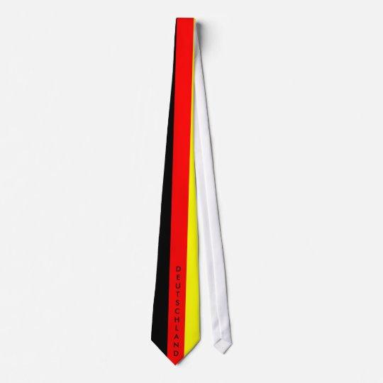 """""""Deutschland""""-Schlips Fussball Deutschland Individuelle Krawatten"""