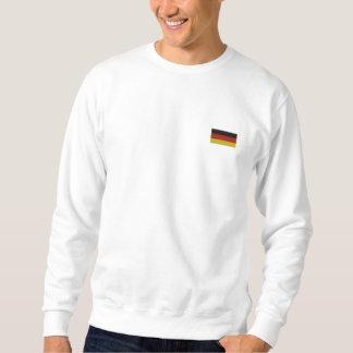 Deutschland-Schweiss-Shirt - deutsche Flagge Besticktes Sweatshirt