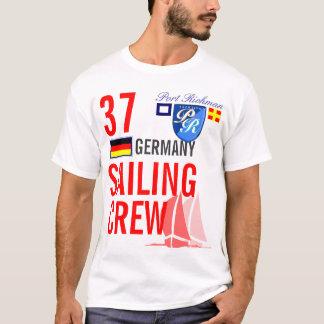 Deutschland-Segeln-Crew nautisch T-Shirt