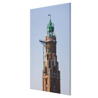 Deutschland, Staat von Bremen, Bremerhaven. Hafen Leinwanddruck