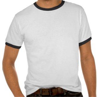 Deutschland | Ringer T-Shirt (weiß/schwarz)