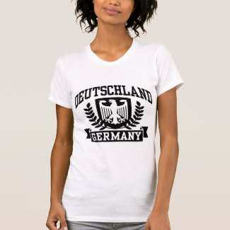 Deutschland | Frauen T-Shirt (weiß)