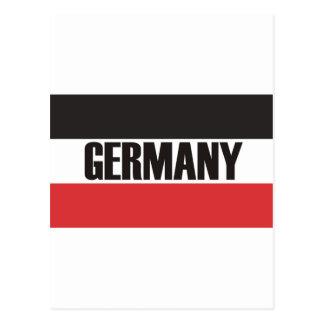 Deutschland u. Deutschlandprodukte und -entwürfe! Postkarte